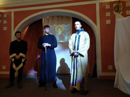 Sveti Sava i monasi